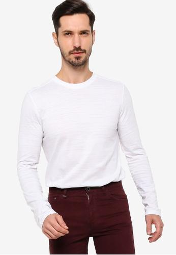 BOSS white Tenison 06 T-Shirt A232DAAFBE27DFGS_1