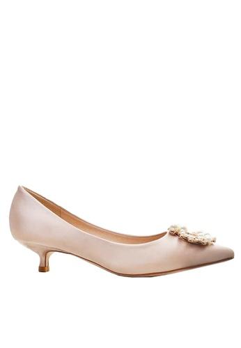 Twenty Eight Shoes 3.5CM Wedding Low Heels 295-11 05021SHCAC8E18GS_1
