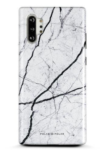 Polar Polar white Classic White Samsung Galaxy Note10 Plus Dual-Layer Protective Phone Case (Glossy) 60E8FAC75336DDGS_1