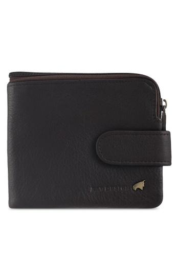RAV Design brown Leather Wallet 63E5DAC21C36A8GS_1