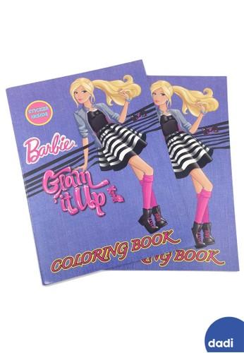 Barbie blue Barbie Glam it Up Coloring and Activity Book Large Buku Mewarnai dan Aktivitas 4F913TH1E6B097GS_1