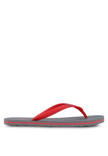 Hollister grey Rubber Flip Flops HO422SH06IMBMY_1