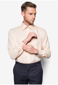 Business Shirt With Contrast Inner Placket