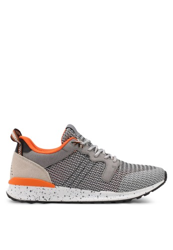 ALDO grey Greiman Sneakers 6D4E9SH2ED396BGS_1