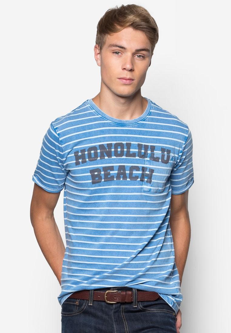 Striped Print T-Shirt