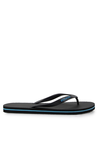 Billabong black Lowdown Splice Thong BI248SH0UK4GID_1