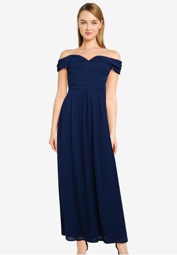 CHI CHI LONDON 藍色 Chi Chi Laine 洋裝 1C951AA9E8ED46GS_1