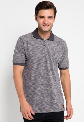 Contempo grey Polo Shirt S/S CO339AA0UVYCID_1
