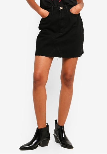 River Island black Lauren Mini Skirt C896AAA3154B67GS_1
