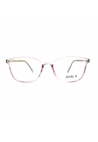 Ibrillen Optical pink LEVEL 9 - TR9123 Women Stylish Glasses Pink Clear 29AF2GL53CE541GS_1