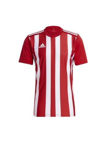 ADIDAS red adidas Striped 21 Jersey 0E6EDAA0F0D057GS_1