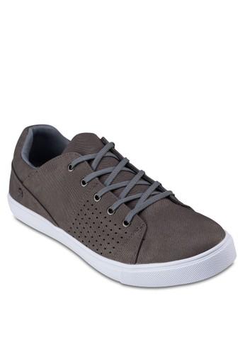 沖孔仿皮休閒鞋, 鞋zalora時尚購物網評價, 休閒鞋