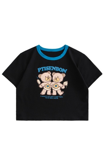 Twenty Eight Shoes Slim Printed Short Sleeve T-shirt HH0053 C0A09AAB50DBD4GS_1