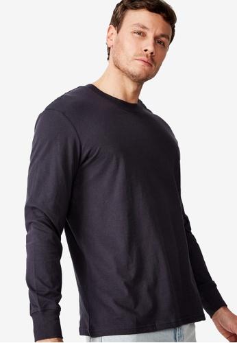 Cotton On blue Tbar Long Sleeve T-Shirt E11F3AA0B62168GS_1