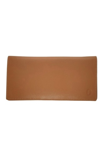 Oxhide brown Long Genuine Leather Wallet for Men - Brown Wallet - Men Long Wallet with Zip - 4424 Oxhide A9CECACD23B83FGS_1