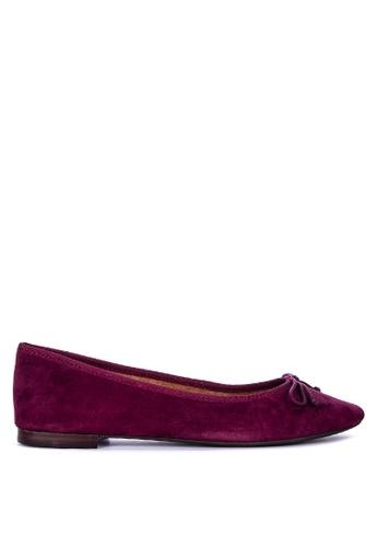 Aerosoles purple Homerun Ballerina Flats 1D693SH622C3B6GS_1