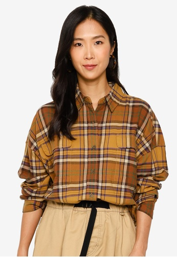 niko and ... brown Woven Shirt BF99AAACEAC483GS_1
