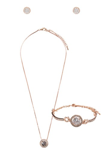 Hikari Furu 水鑽閃石首飾組合, 飾品配件, esprit童裝門市項鍊