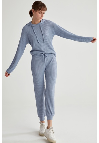DeFacto blue Woman Knitted Trousers C738CAA0CE0ABFGS_1