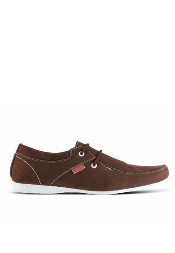 Sogno brown Sepatu Sneaker  Pria GF.7005 37F6BSHF818819GS_1