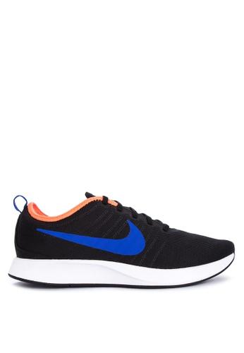 Nike black and white and blue Men's Nike Dualtone Racer Shoes 7E5EDSH095C566GS_1