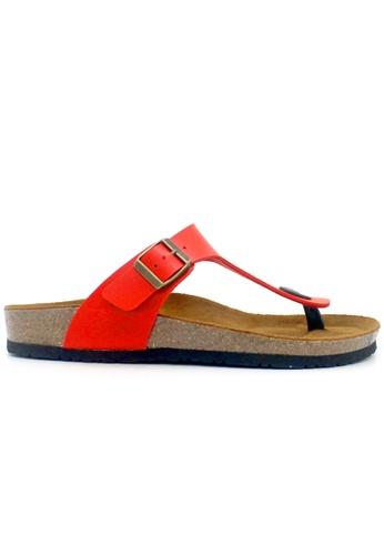 SoleSimple 紅色 Rome - 紅色 百搭/搭帶 軟木涼鞋 2CD45SHB1FCB2DGS_1