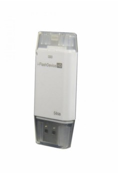 i-Flash HD Drive 64GB for Apple iPad Mini (White)