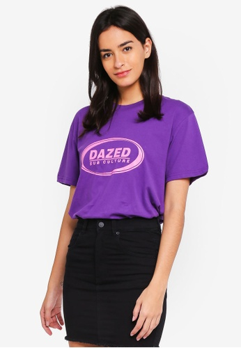 Factorie purple and multi Short Sleeve Classic Tee 27AF3AA389573CGS_1