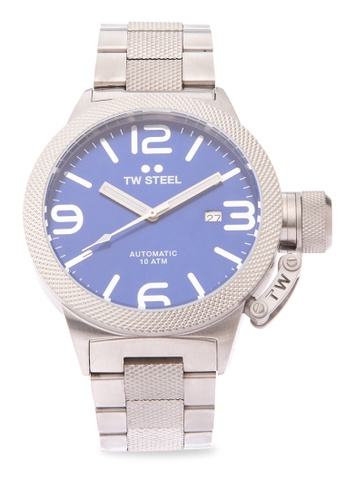TW Steel silver CB15 Canteen Bracelet Analog Watch TW310AC0KMA9PH_1
