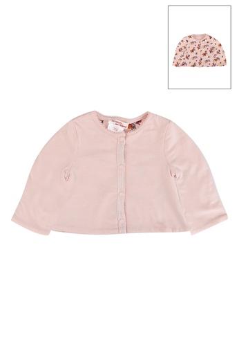 DU PAREIL AU MÊME (DPAM) pink Pink Cardigan 91BB3KA9C2AF17GS_1