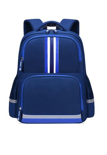 Twenty Eight Shoes navy VANSA Nylon Backpacks VAK-Bp2058 D50ECKC2608F38GS_1