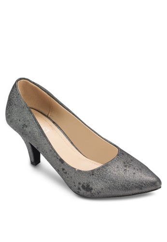 Maciesprit hk分店e 仿皮中跟鞋, 女鞋, 鞋