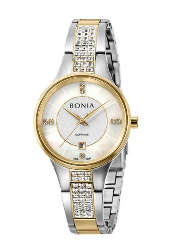 BONIA gold and silver Bonia B10387-2157 - Jam Tangan Wanita - Silver Gold A1B60AC36EBDF5GS_1