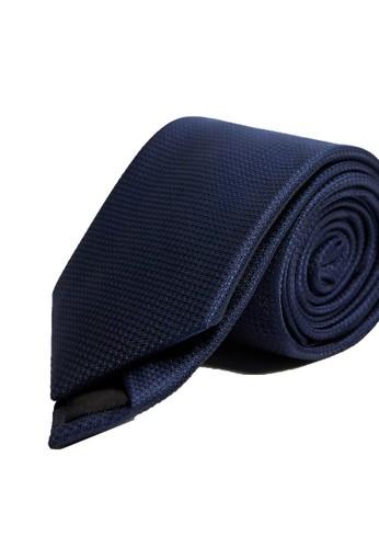 MANGO Man blue Patterned Tie BA163ACC95A268GS_1