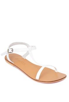Flat T-Strap Sandals