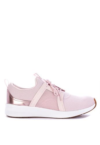 ae876f377a9c0 Shop Keds Studio Flair Mesh Metallic Detail High Cut Sneakers Online on  ZALORA Philippines
