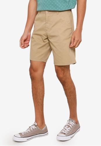 Springfield beige Micro Print Bermuda Shorts 1CE12AAB913167GS_1
