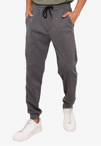 KOTON grey Classic Drawstrings Sweatpants 2E4F8AA2FC87B1GS_1