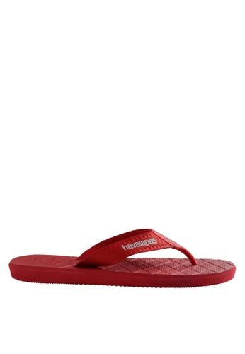 Havaianas red Level 17 Flip Flops HA021SH0JPZFPH_1