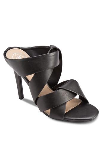 扭飾多帶露趾高跟涼鞋, 女esprit 會員鞋, 鞋