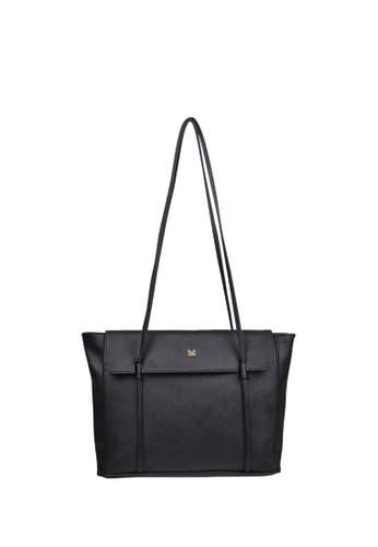 MAYONETTE black MAYONETTE Norah SHoulder Bag - Tas Fashion Wanita - Tas Bahu Wanita - Black 2B9DAAC9F9DF5DGS_1
