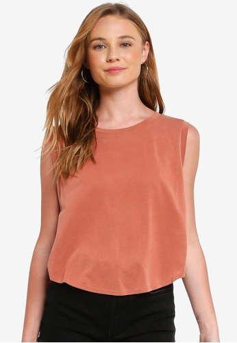 fb7fab23a78ac Buy FOREVER 21 Slub Knit Tank Top Online on ZALORA Singapore