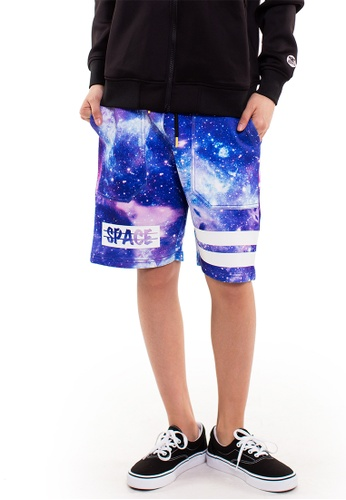 Reoparudo multi RPD Space Print Neoprene Short (Limited Edition) RE413AA0GDM8SG_1
