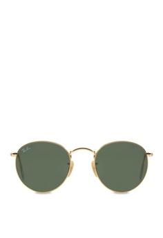 8fb4f18631443 Ray-Ban Round Metal RB3447 Sunglasses RA370GL08SBNSG 1