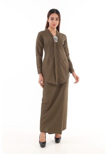 Amar Amran green Baju Kebaya Rokiah E0121AAC6C7A68GS_1