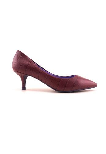 Flatss & Heelss by Rad Russel red Alicia Pointy Heels FL655SH31RWASG_1