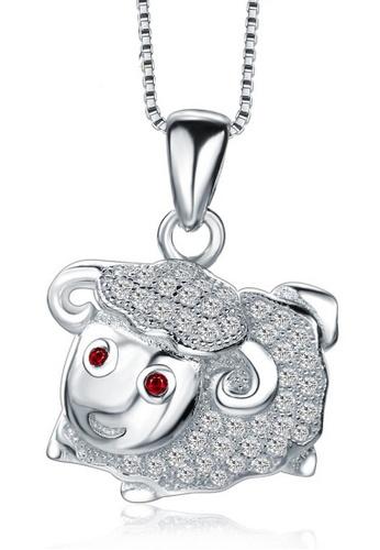 LYCKA silver LPP88167 S925 Silver Necklace 86E32AC5252AE4GS_1