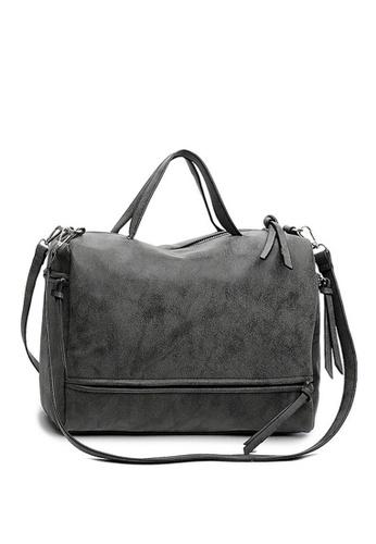 Twenty Eight Shoes grey VANSA  Simple Design Nubuck Tote Bag VBW-Tb010 0A36FAC072C923GS_1