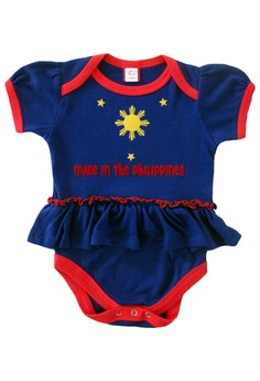 Made in the Philippines Onesie with Skirt