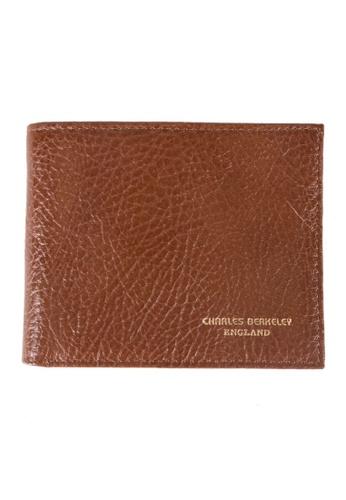 Charles Berkeley brown Charles Berkeley Bi-Fold  Men's Wallet -XY1846-1 BAEB0AC52CD5C8GS_1